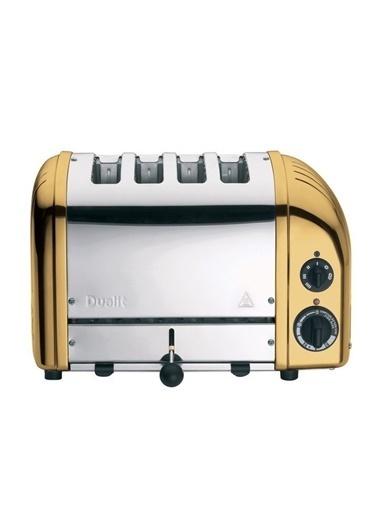 Dualit 47391 Classic 4 Dilim Ekmek Kızartma Makinesi-Pirinç Renkli